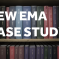 A library shelf image with the caption 'New EMA Case Study'