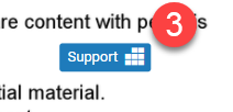 Icon to show linked to rubric